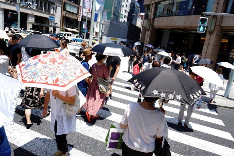 जापानमा तातो हावाका कारण ३० जनाको मृत्यु