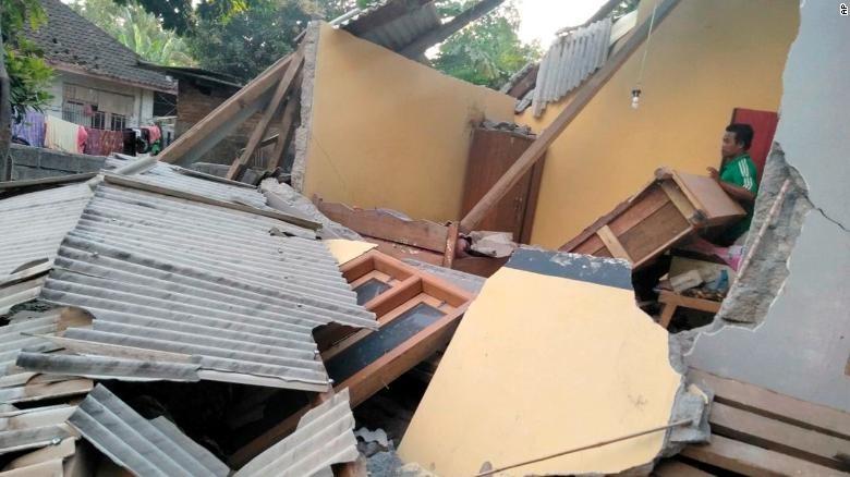 इन्डोनेसियामा शक्तिशाली भूकम्प, १० जनाको मृत्यु