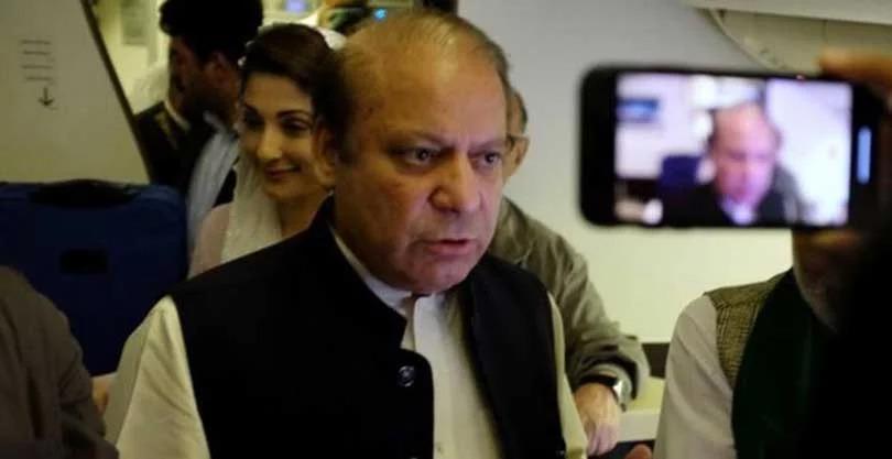 पाकिस्तानका पूर्वप्रधानमन्त्री नवाज शरिफ विमानस्थलबाटै पक्राउ