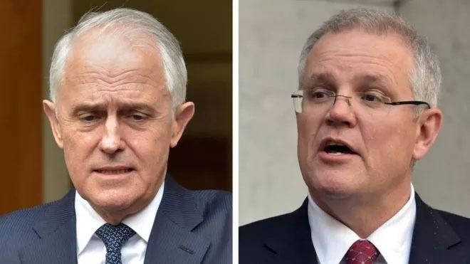 अस्ट्रेलियाको प्रधानमन्त्रीमा स्कट मरिसन निर्वाचित, टर्नबुल पदमुक्त