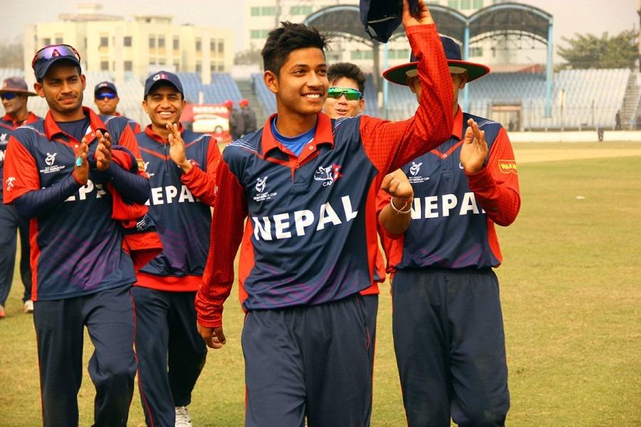 नेपाली यु–१९ क्रिकेट टोलीलाई भारतको निम्तो