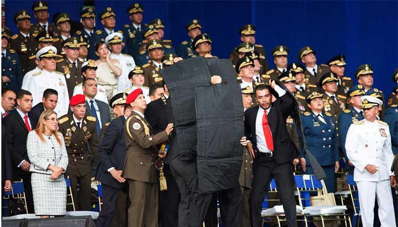 भेनेजुयलाका राष्ट्रपतिलाई लक्षित गरी ड्रोन आक्रमण
