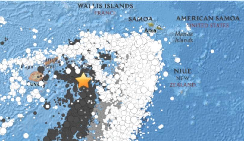 फिजीमा ८.२ म्याग्नेच्युडको शक्तिशाली भूकम्प