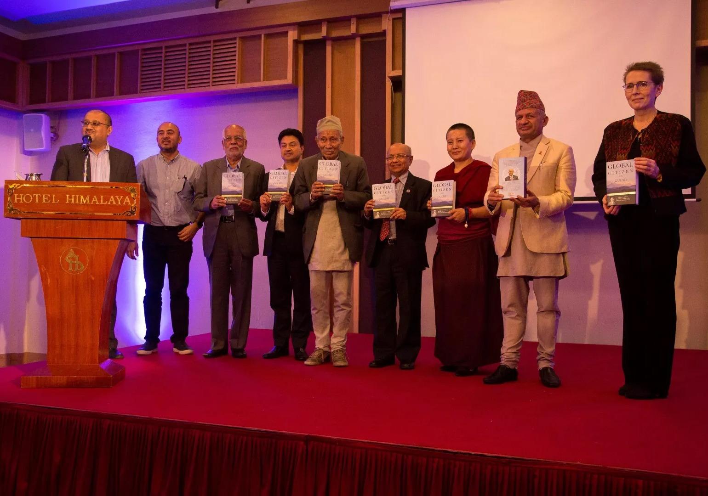 कुलचन्द्र गौतमको जीवनी 'ग्लोबल सिटिजन फ्रम गुल्मी' विमोचित