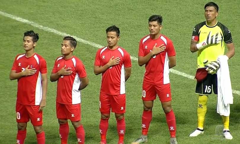 एसियाड फुटबल : नेपाल पाकिस्तानसँग पनि पराजित