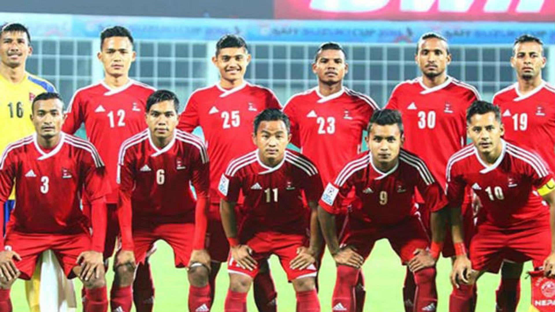 एसियाड फुटबल : लगातार २ हार सँगै नेपाल समूह चरणबाटै बाहिरियो