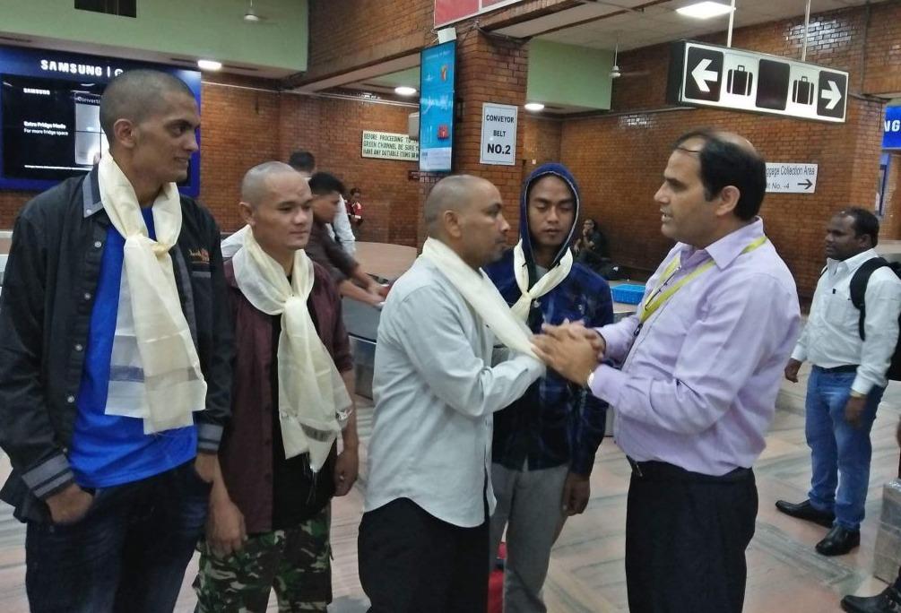 जनउद्वार केन्द्र पेनाङ मलेसियाको पहलमा १२ नेपालीको उद्दार