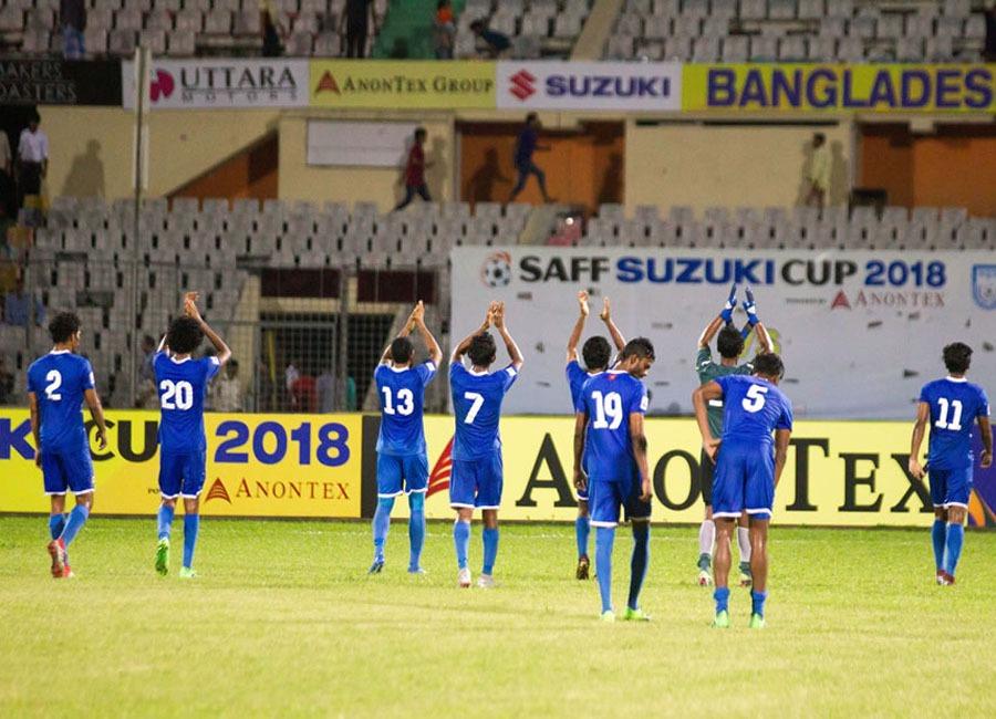 साफ च्याम्पियनसिपमा इतिहास रच्नबाट चुक्यो नेपाल, माल्दिभ्ससँग ३-० ले पराजित