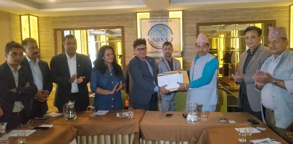 एनआरएनएद्धारा 'सिन्धुलीगढी'पुर्ननिर्माण को बिस्तृत गुरु योजना हस्तान्तरण
