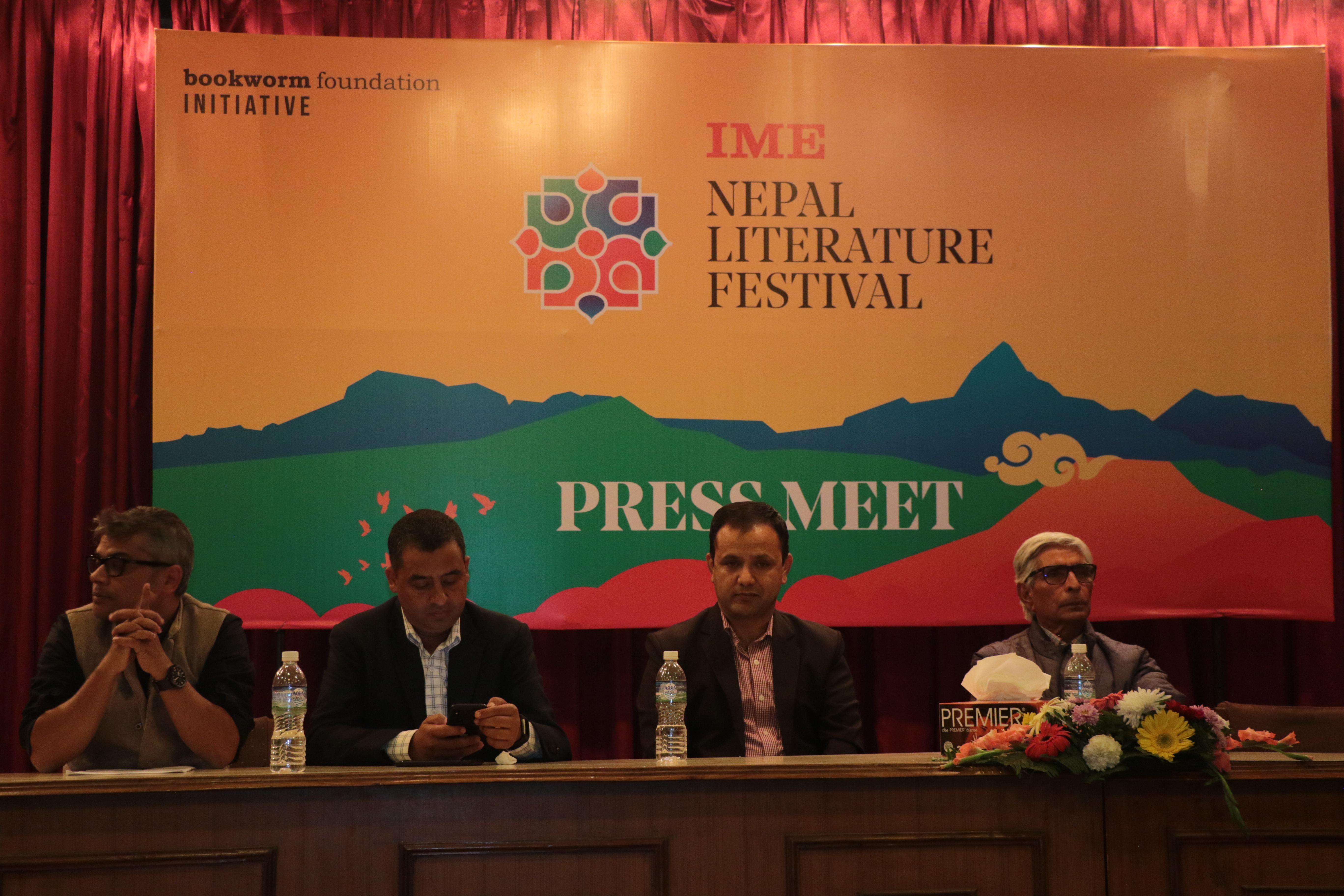 'आइएमई नेपाल लिटरेचर फेस्टिभल २०१८' पोखरामा हुँदै