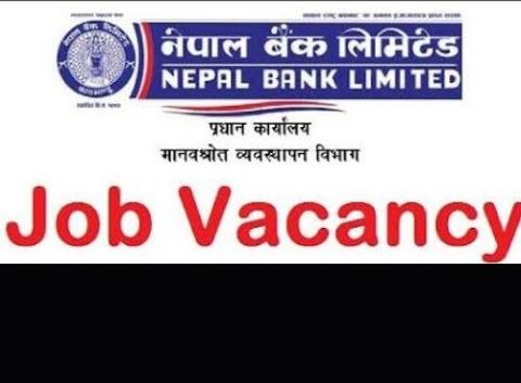 नेपाल बैंकमा ठूलो संख्यामा कर्मचारीको माग (विज्ञापनसहित)