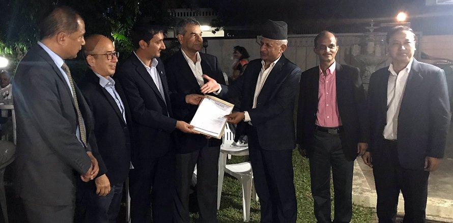 सरकारी र एनआरएनए थिंक-ट्यांकबीच औपचारिकरुपमा साझेदारी सुरु