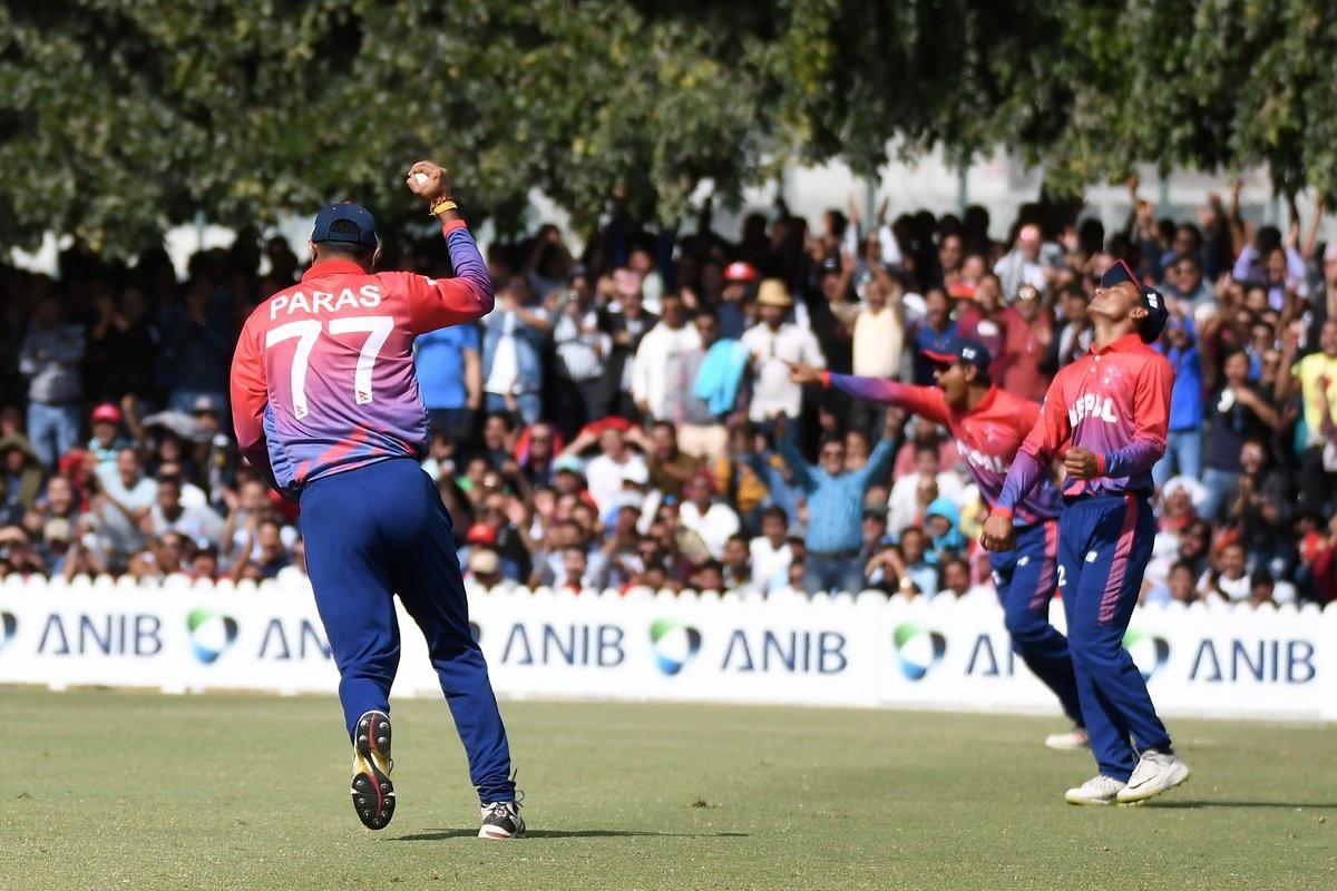 नेपाललाई पहिलो ऐतिहासिक टी-२० क्रिकेट सिरिज, निर्णायक खेलमा युएईलाई १४ रनले हरायो
