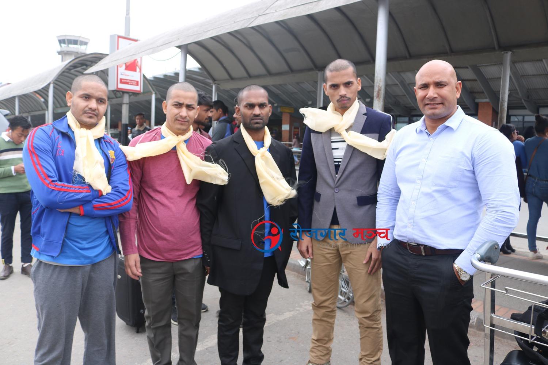 जनउद्वार केन्द्र पेनाङ मलेसियाको पहलमा ४ नेपाली स्वदेश फिरे