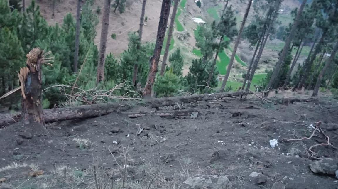 भारतीय वायु सेनाले पाकिस्तानी भूमिमा खसाल्यो बम