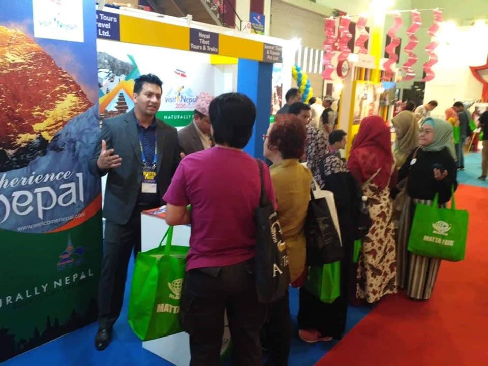 मलेसियाको पर्यटन मेलामा 'नेपाल'प्रति धेरैको आकर्षण