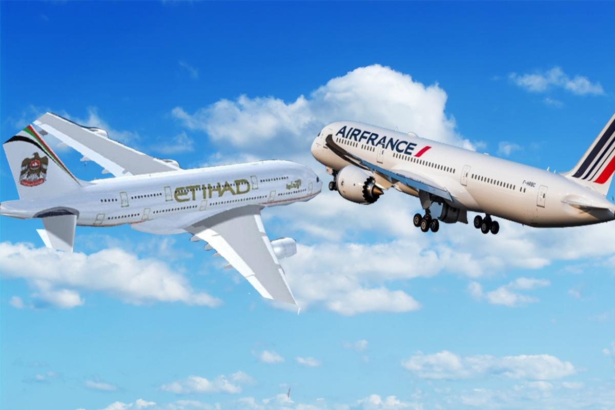 काठमाडौ आइरहेको इत्तिहाद एयरको जहाज अर्को जहाजसँग आकाशमै ठोक्किनबाट जोगियो