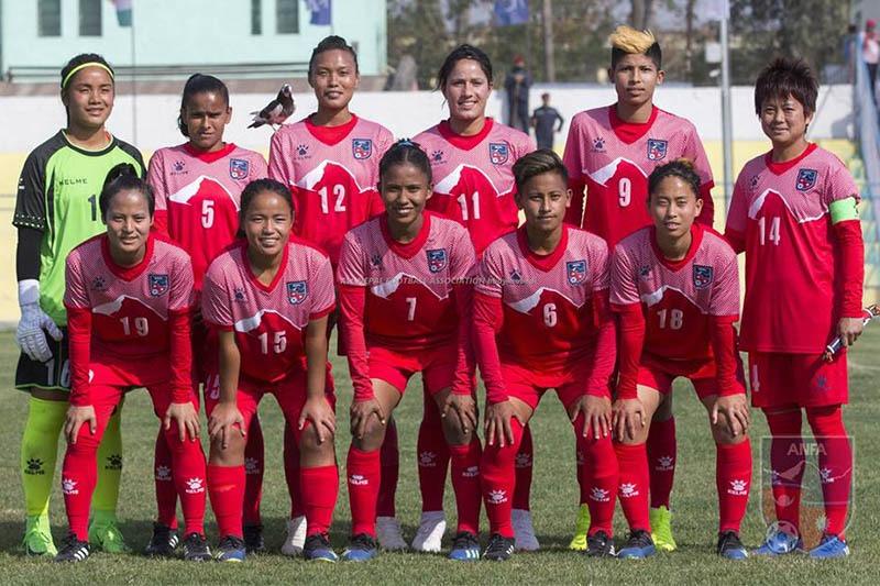साफ महिला फुटबलमा विजयी भए प्रत्येक खेलाडिलाई २ लाख दिने सरकारको घोषणा
