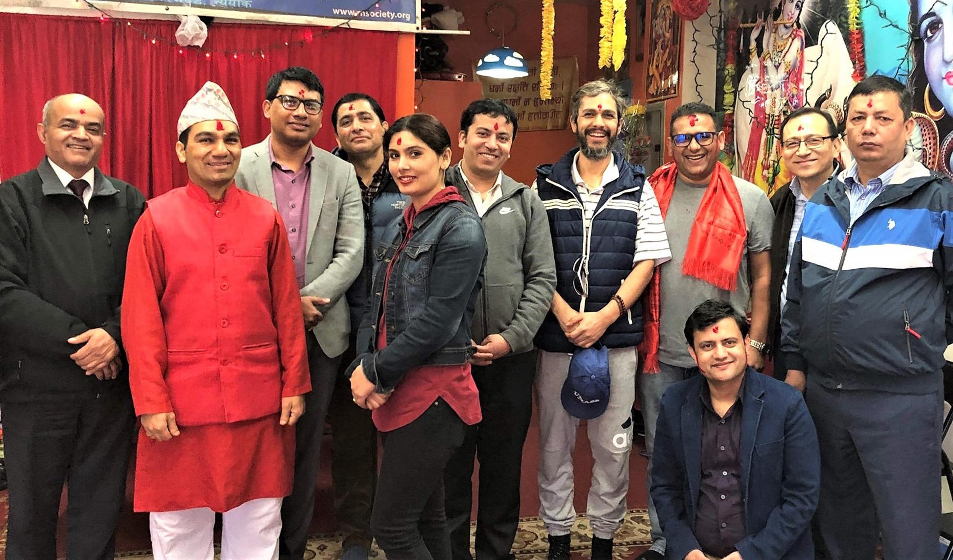 रिजवुड नेपाली समाजको अध्यक्षमा राजेश भट्ट