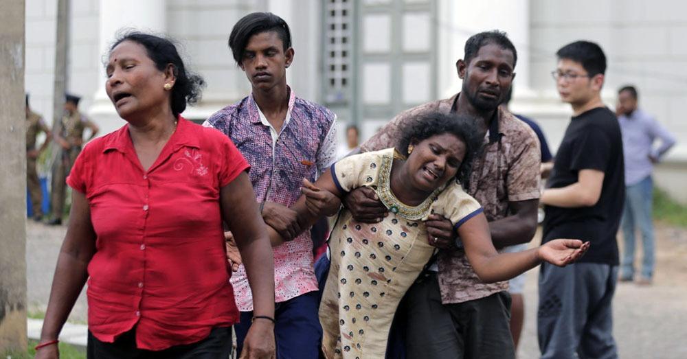 श्रीलङ्का विष्फोट : मृत्यु हुनेको संख्या २ सय ९० नाघ्यो, शंकास्पद २४ जना पक्राउ