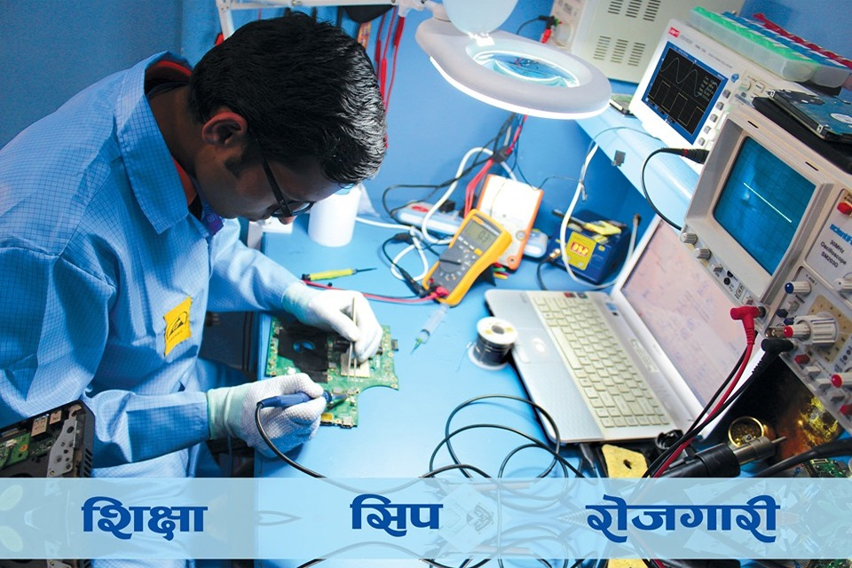 शिक्षा, सीप र रोजगारीको अभियानमा 'गुरु इन्स्च्यिुट अफ इन्जिनियरिङ'