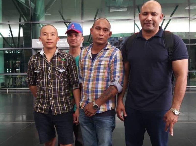 मलेसियाबाट समस्यामा परेका ८ नेपाली स्वदेश फिर्ता ल्याइयो