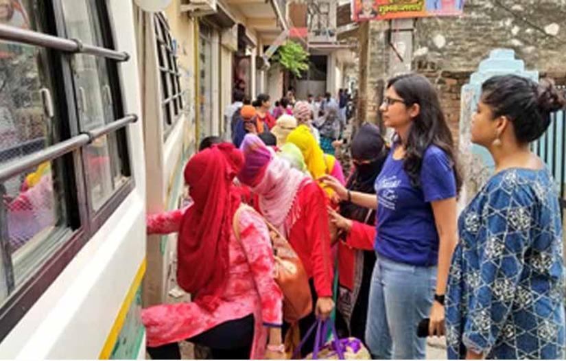 तेस्रो मुलुक लैजान लागिएका २३ नेपाली महिलाको भारतबाट गरियो उद्दार