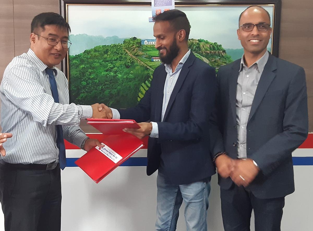 मुक्तिनाथ विकास बैंक र 'आइएमई पे'बीच सम्झौता