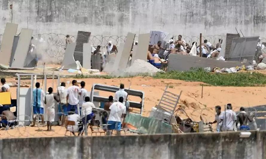 ब्राजिलको जेलमा कैदीबन्दीबीच ग्याङफाइट हुँदा ५२ को मृत्यु