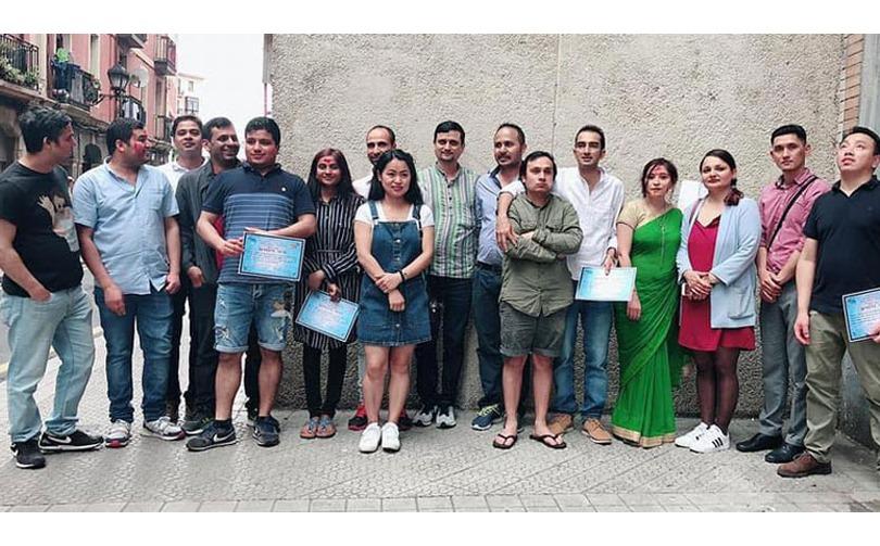 एनआरएनए स्पेनको पाइभास्को क्षेत्रीय समितिमा कमला बराल विजयी