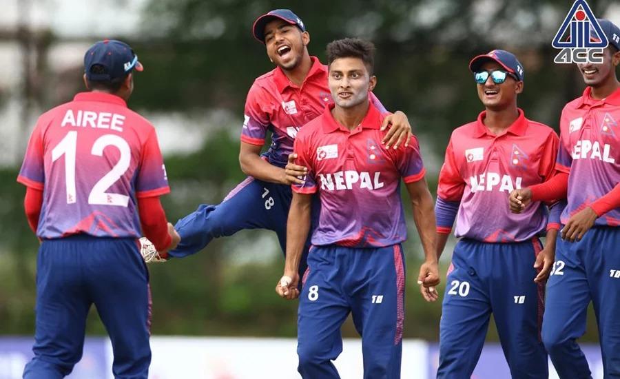 नेपाल यू–१९ एसिया कप क्रिकेटमा छनोट, हङकङलाई ६ विकेटले हरायो