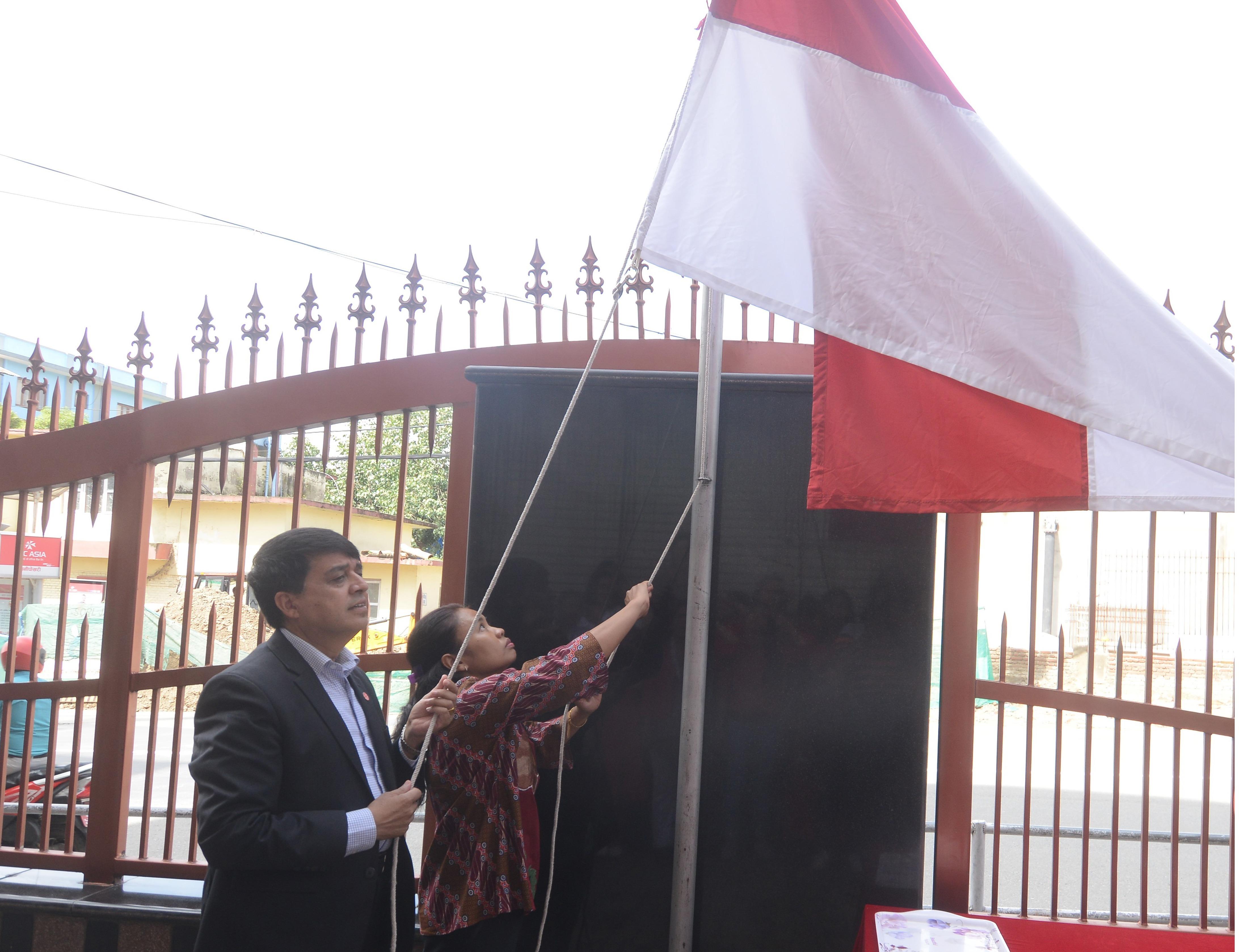 इन्डोनेसियाको ७४औं स्वतन्त्रता दिवस काठमाडौंमा मनाइयो