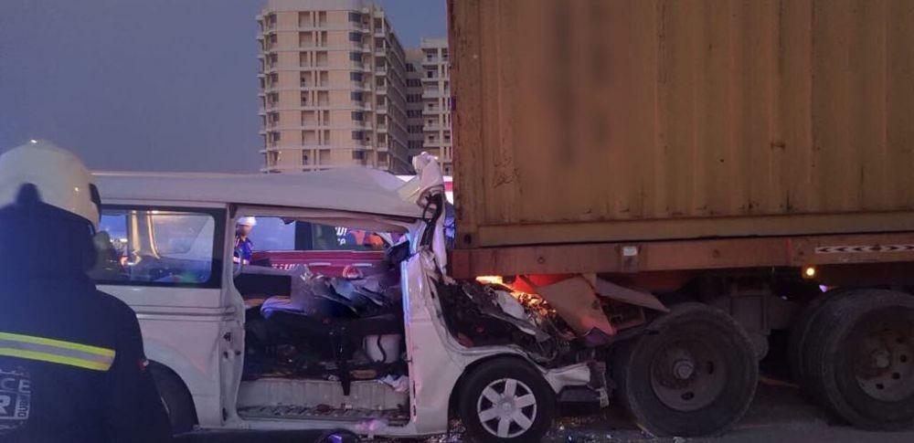 युएईमा सडक दुर्घटनामा ६ नेपालीको मृत्यु