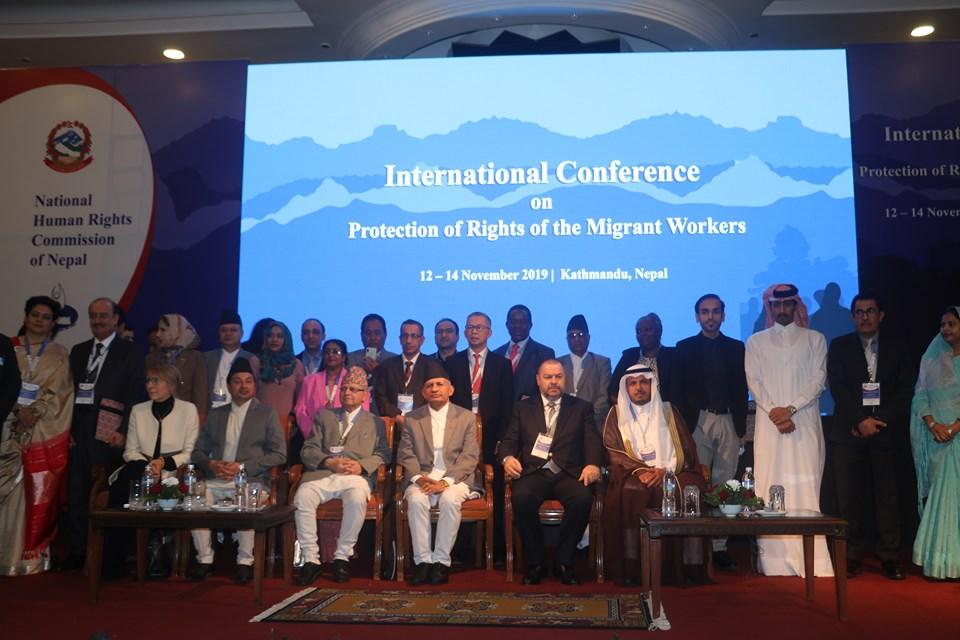 आप्रवासी कामदारको मानव अधिकार संरक्षणसम्बन्धी अन्तर्राष्ट्रिय सम्मेलन काठमाडौंमा शुरु, आप्रवासी कामदारको अधिकार रक्षामा जोड