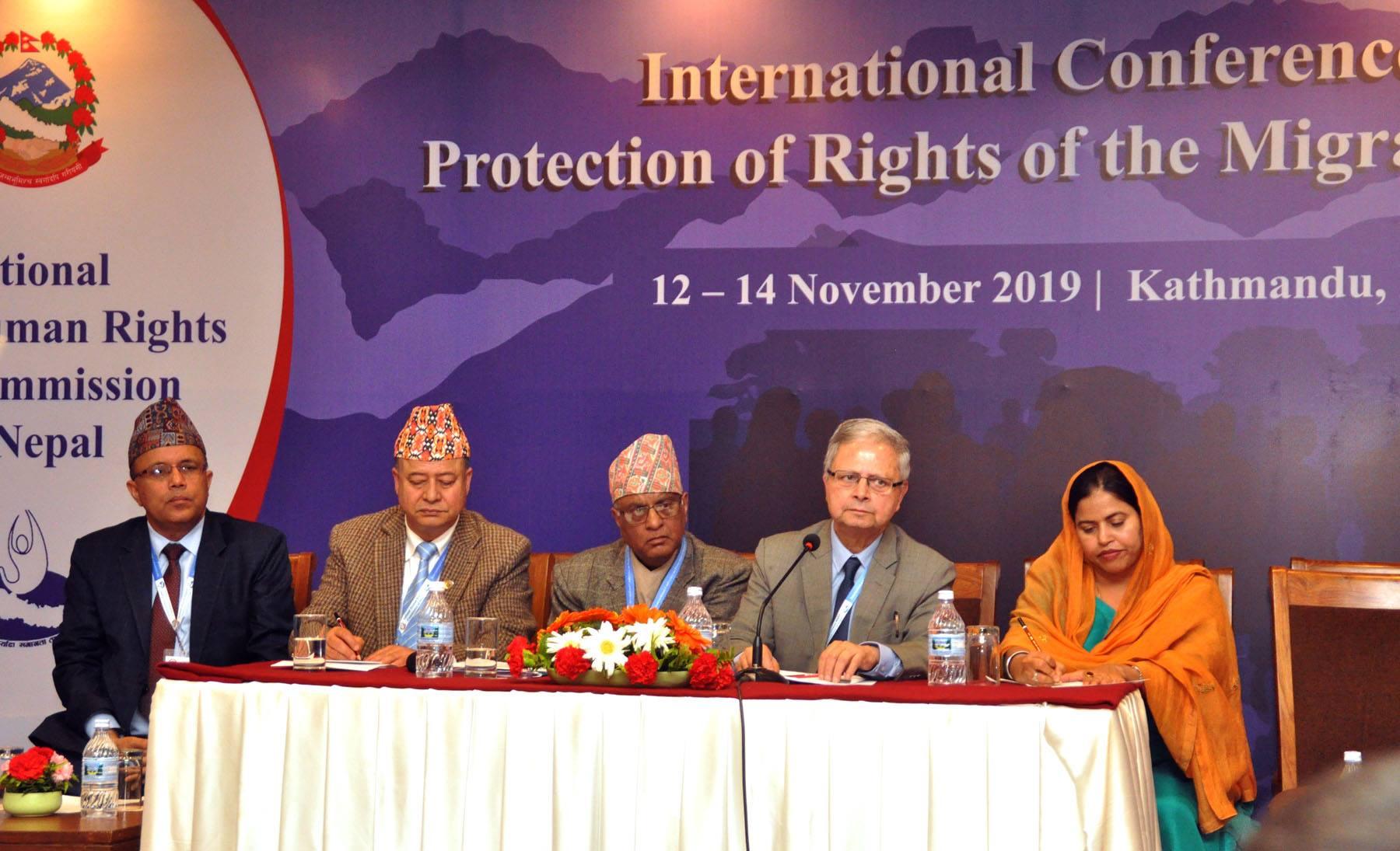 आप्रवासी कामदारहरूको अधिकार रक्षामा जोड दिदै २१ बूँदे काठमाडौं घोषणापत्र
