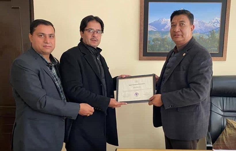 चौलागाई बने नेपाल चेम्बर अफ कमर्शको कतार प्रतिनिधि