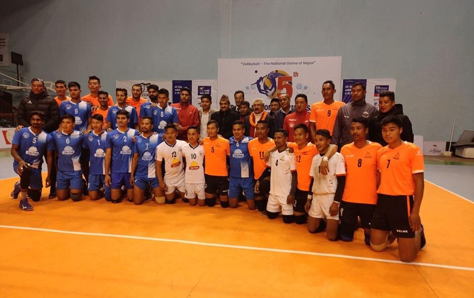 राष्ट्रिय भलिबल प्रतियोगिताको उपाधी 'हेल्प नेपाल क्लब'लाई