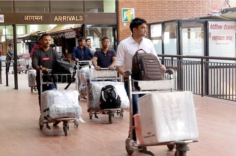 वैदेशिक रोजगारीमा जाने र फर्किने नेपालीको आधिकारिक तथ्याङ्क राख्न सुरु