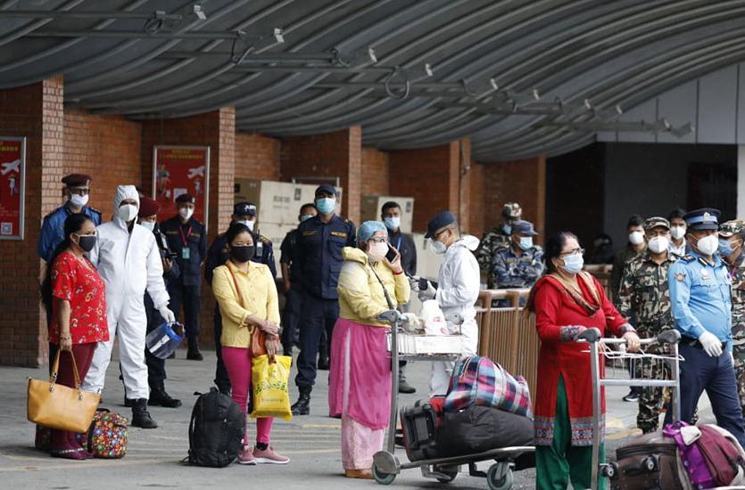 विदेशमा रहेका नेपाली फर्काउन सुरु,  म्यानमारबाट २६ जना काठमाडौं आइपुगे