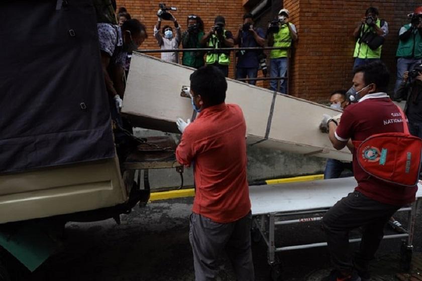 वैदेशिक रोजगारीका क्रममा मृत्यु भएका २३ नेपालीको शव काठमाडौं ल्याइपु-याइयो