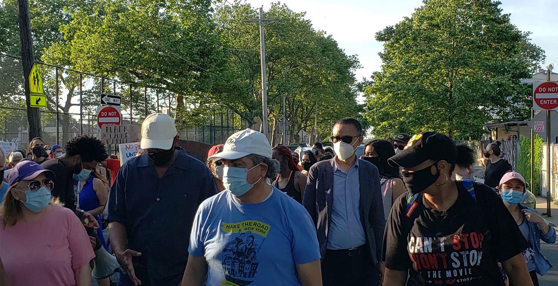 अमेरिकामा प्रहरीद्वारा अश्वेत नागरिक हत्या विरुद्धको प्रदर्शनमा गिरिजा प्रसाद कोइराला फाउण्डेशनको एक्यवद्धता