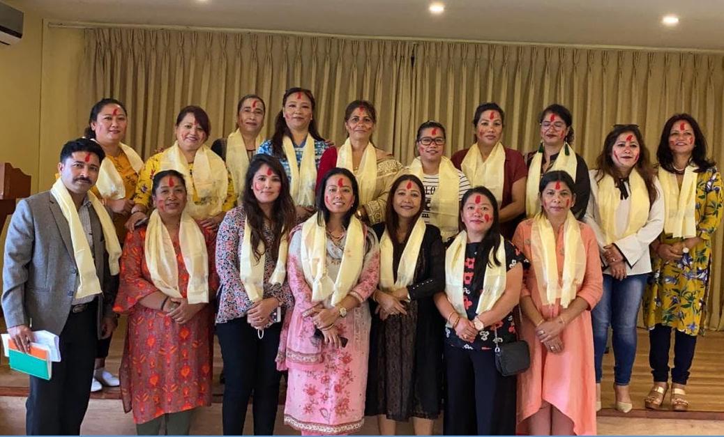 नेपाल वैदेशिक रोजगार महिला व्यवसायी संघ गठन, अध्यक्षमा देबकोटा