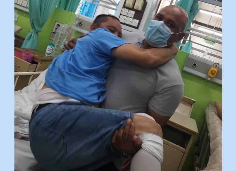 जनउद्धार केन्द्रले अस्पतालमै पुगेर गर्यो लिम्बुको उद्धार, घरफिर्ति केन्द्रबाट थप १ को उद्धार