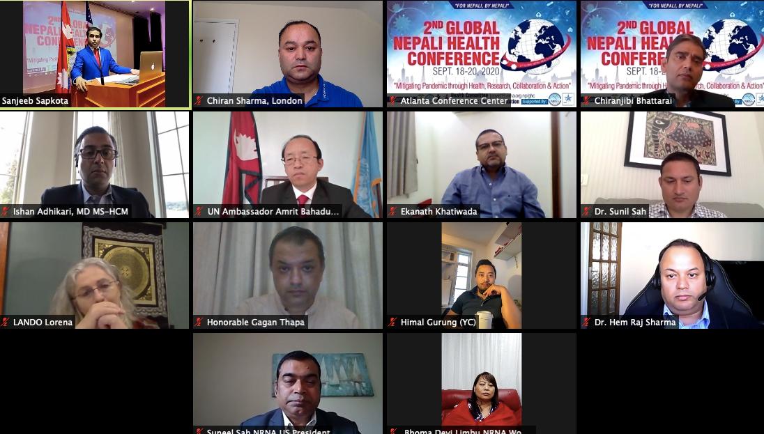 एनआरएनएका ज्ञान,अनुभव र सहयोगबाट नेपाल लाभान्वित हुनुपर्छ : पूर्वमन्त्री गगन थापा