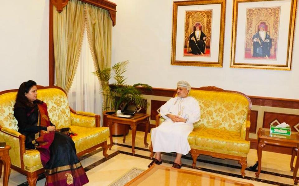 राजदूत पराजुली र ओमानका सम्पदा तथा पर्यटनमन्त्री अल मरहुक्कीबीच भेटवार्ता