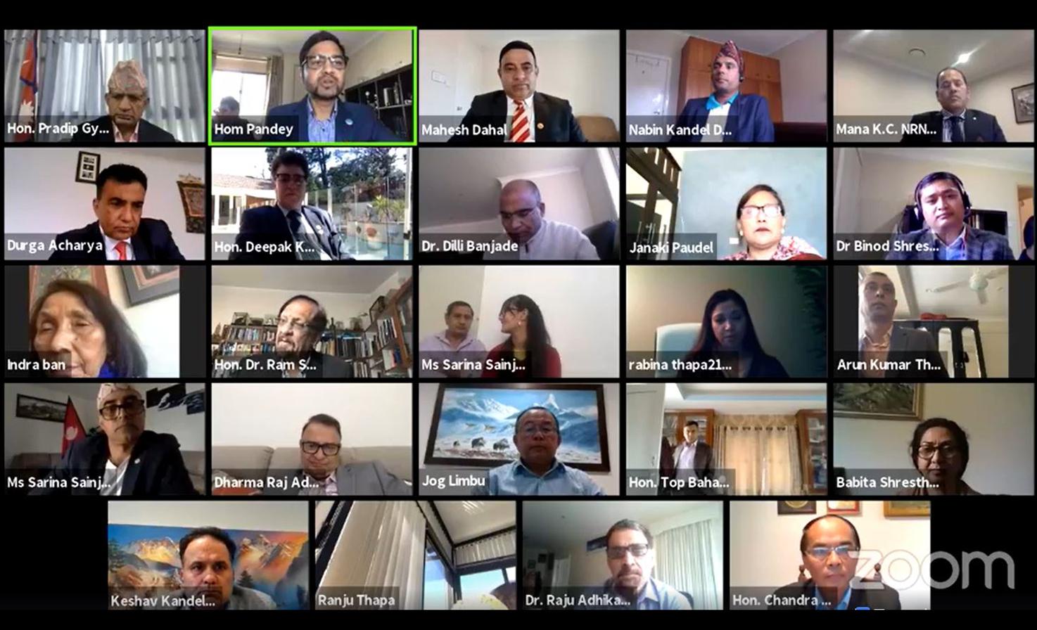 एनआरएनए ओसिनिया क्षेत्रीय बैठक र विज्ञ सम्मेलन सम्पन्न
