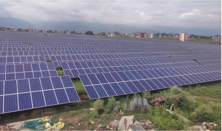तराईको सौर्य बिजुली राष्ट्रिय प्रसारण लाइनमा जोडियो