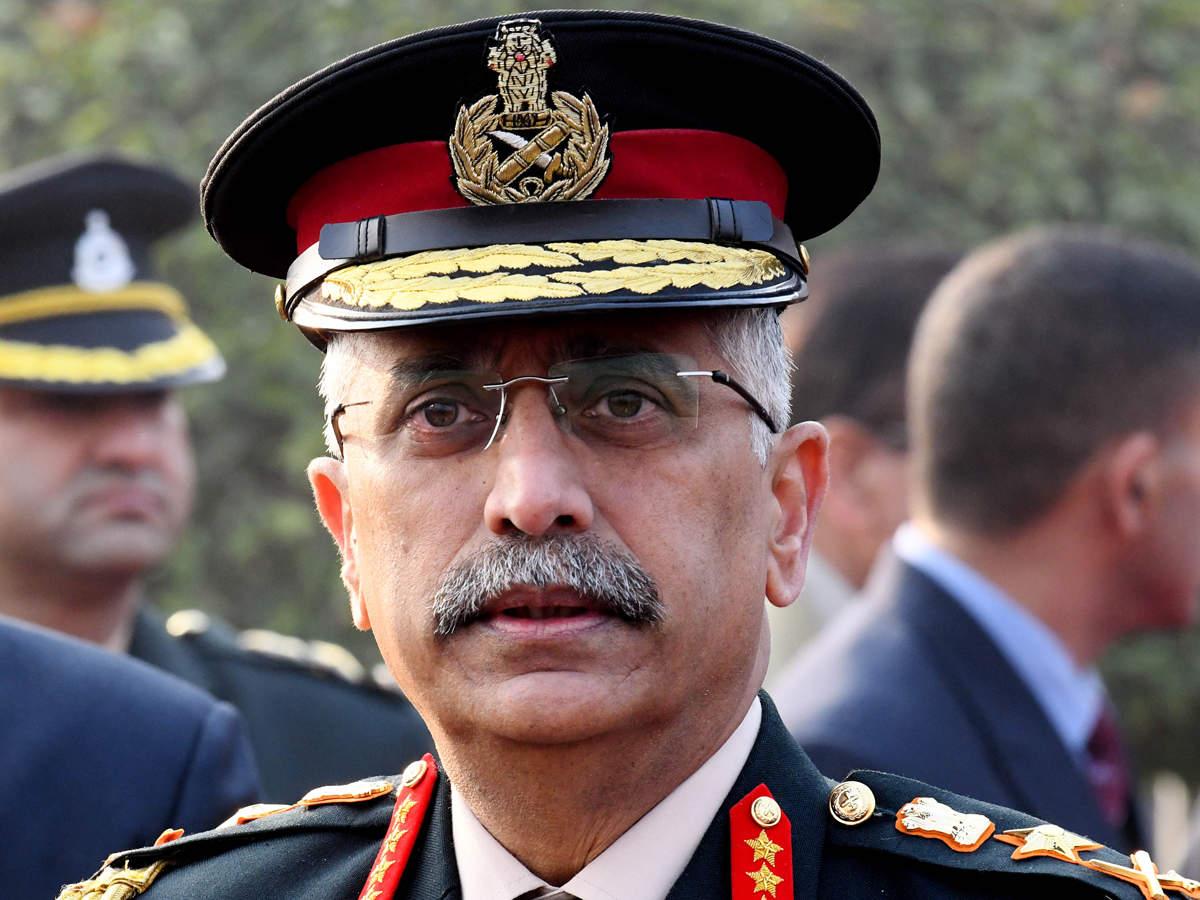 भारतीय सेनाध्यक्ष नरवणे नेपालको तीन दिवसीय भ्रमणका लागि कात्तिक १९ मा नेपाल आउदै