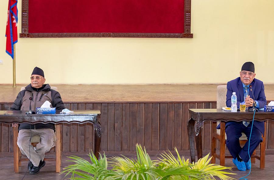 प्रधानमन्त्री ओलीद्वारा सचिवालय बैठकमा जवाफी प्रस्ताव प्रस्तुत (पूर्णपाठसहित)