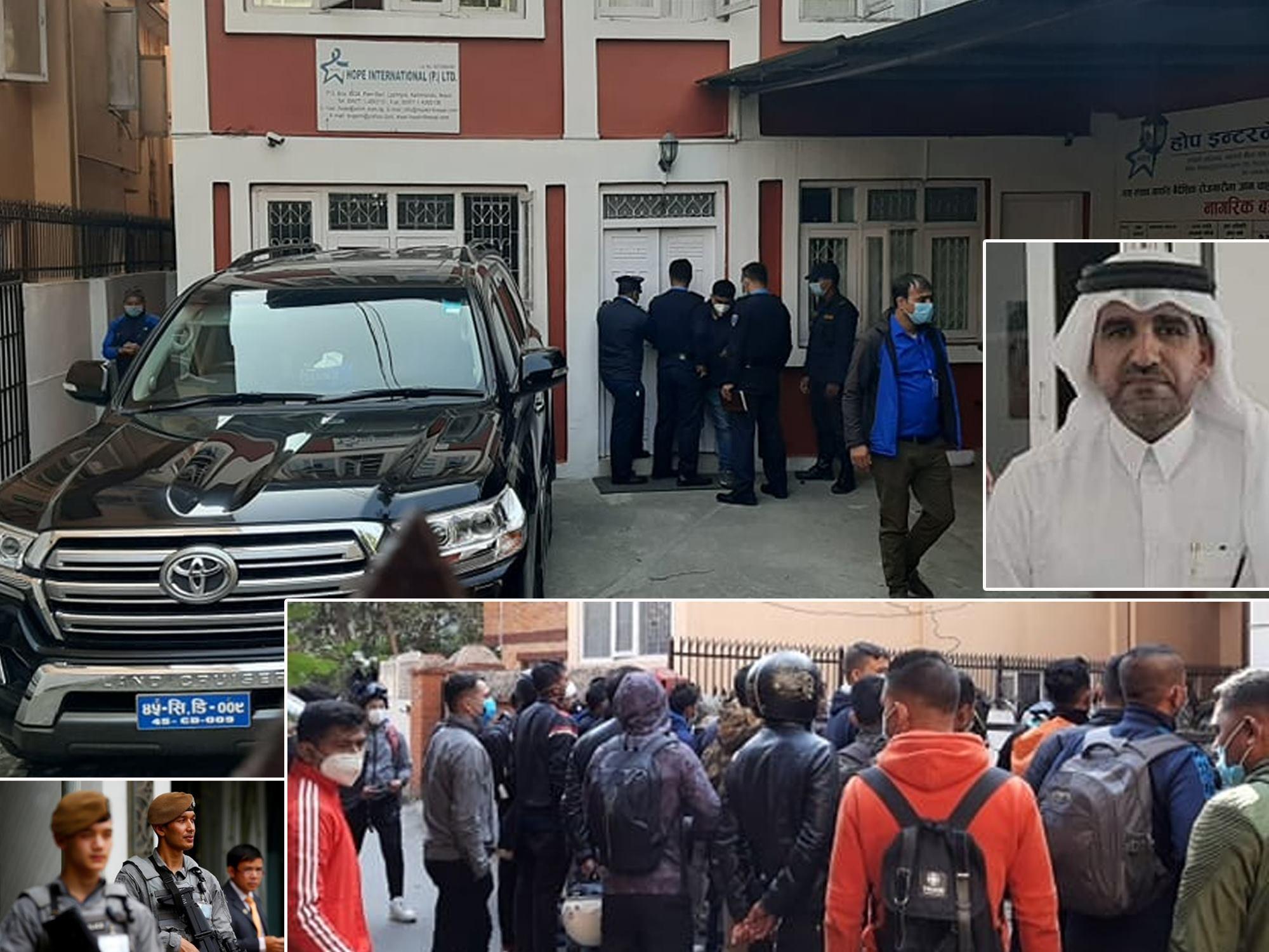 कतार प्रहरीको अन्तर्वार्तामा दूतावासको संलग्नता छैन, अवसर राम्रो हो : राजदूत यूसुफ